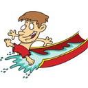 waterslide boy