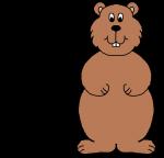 Groundhog Clipart 26306